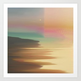 That Peaceful Easy Dream Feel Art Print