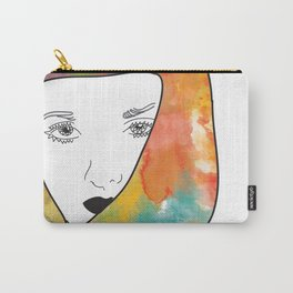 face I Carry-All Pouch