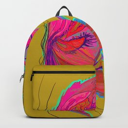 Metamorphosis with me-chartreuse Backpack