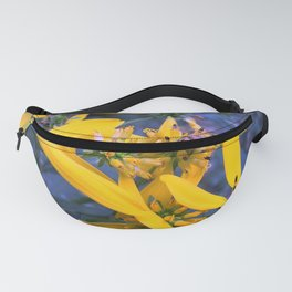 Floral Pollination Fanny Pack
