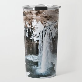 Waterfall / Seljalandsfoss, Iceland Travel Mug