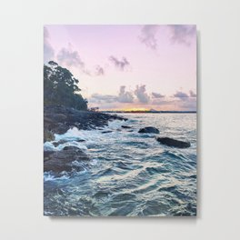Popping Up for Air Metal Print