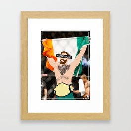 The Notorious - Conor McGregor Framed Art Print