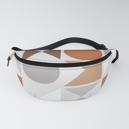 Mid Century Modern Geometric 16 Fanny Pack