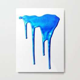 Splatter Metal Print