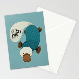 Hello Platypus Stationery Cards