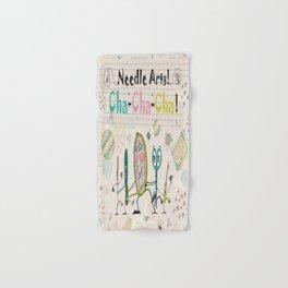 Needle Arts! Cha-Cha-Cha! Hand & Bath Towel