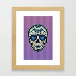 Sugar Skull (Calavera) by Adam Miconi Framed Art Print