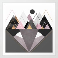 nordic Art Prints featuring Nordic Wilderness by Elisabeth Fredriksson