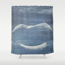 Freedom dream. Sueño de libertad Shower Curtain