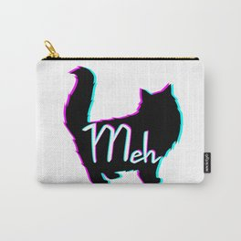 Meow = Meh Carry-All Pouch
