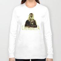 chewbacca Long Sleeve T-shirts featuring Chewbacca by iankingart