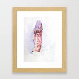 Naked 1 Framed Art Print