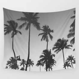 Palm Trees II Wall Tapestry