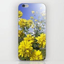 POWER FLOWER iPhone Skin