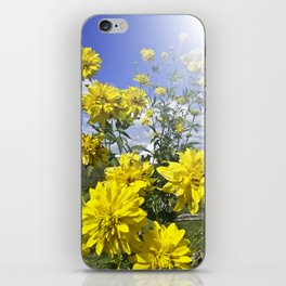 POWER FLOWER iPhone Skin