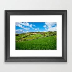 Molise landscape Framed Art Print