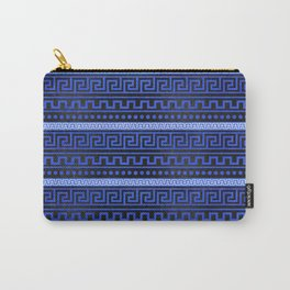 Traditional Greek Meander Pattern Carry-All Pouch