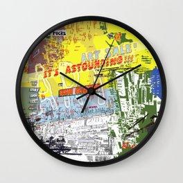 Art That Rocks Wall Clock
