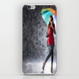 Rain Drops iPhone Skin
