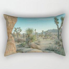 Joshua Tree Park - Light and Calm Rectangular Pillow
