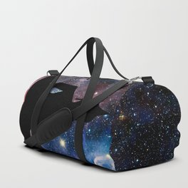 Space Galaxy Buddha Duffle Bag
