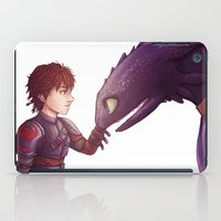 hiccup iPad Cases featuring Hiccup & Toothless by MaliceZ