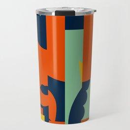 Bloodflower Pattern Travel Mug