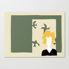 Matisse Does Hitchcock's Birds Canvas Print