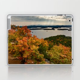Autumn colors in New Hampshire Laptop & iPad Skin