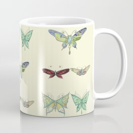 Art Nouveau Butterflies Coffee Mug