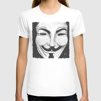 anonymous T-shirts featuring Anonymous by nicole carmagnini