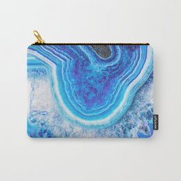 Blue agate 0397 Carry-All Pouch