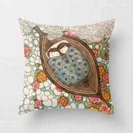 Boat Nap Throw Pillow