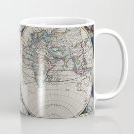 Atlas Maritimus - Vintage World Map Coffee Mug