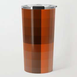 Monochromatic Orange Travel Mug