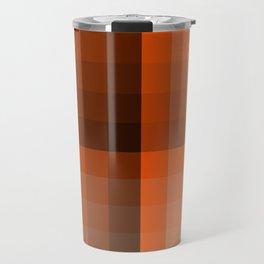 Monochromatic Orange Travel Mug