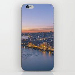 The view from Serra do Pilar - Porto and Gaia iPhone Skin