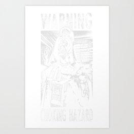 Choking Hazard Art Print