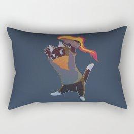 Anarchy Cat Rectangular Pillow