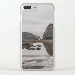 Whaleshead Beach Clear iPhone Case