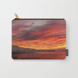 dawn uplands skyline sky Carry-All Pouch