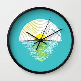 Morning Sounds Wall Clock