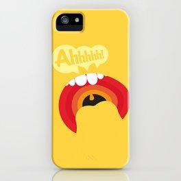 Ahhhhhh! iPhone Case