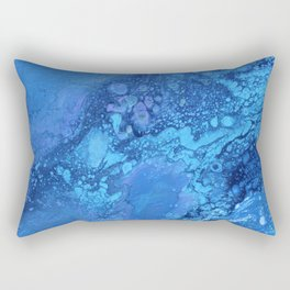 Blue Vibes Rectangular Pillow