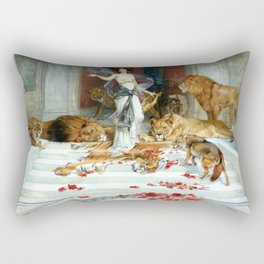 Wright Barker Circe Nyph Goddess Of Magic Witch Enchantress Turn Men Into Animals Rectangular Pillow