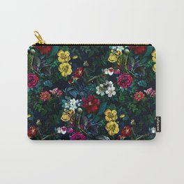 Flowers and Skeletons Carry-All Pouch