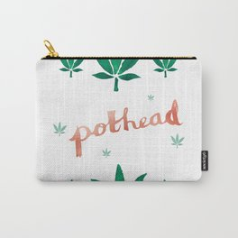 Pothead in Rose Gold Carry-All Pouch