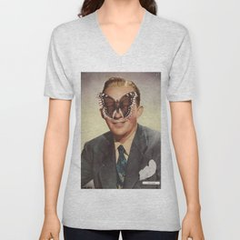 BING CROSBY.  (PIN-UPS). Unisex V-Neck