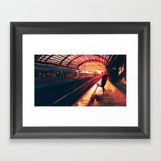 At Last Framed Art Print